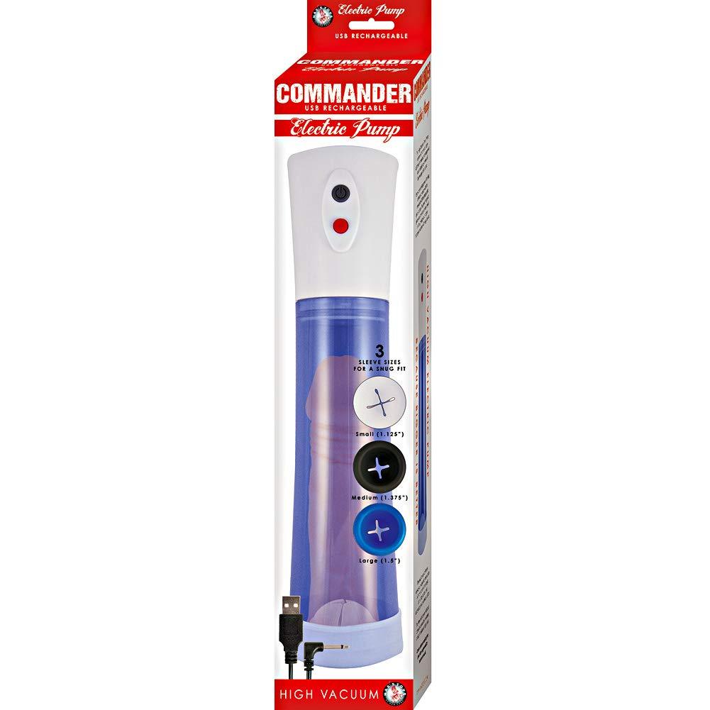 COMMANDER ELECTRIC PUMP – Blue