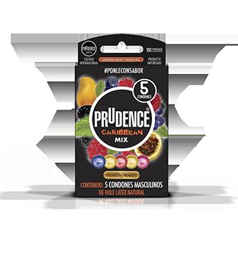 Condones Prudence con sabor - Caribbean