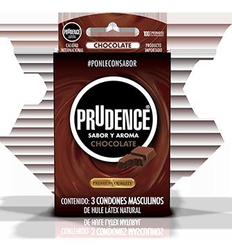 Condones Prudence con sabor - Chocolate