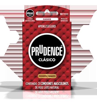 Condones Prudence clásicos