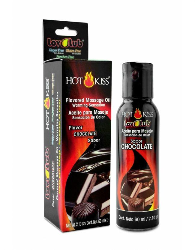 LovLuv Hot Kiss Aceite para Masaje - Chocolate 60ml
