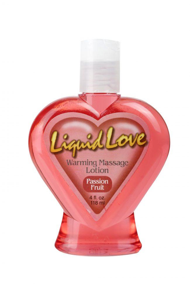 Liquid Love Warming Massage Lotion Passion Fruit 4 oz. (120ml)